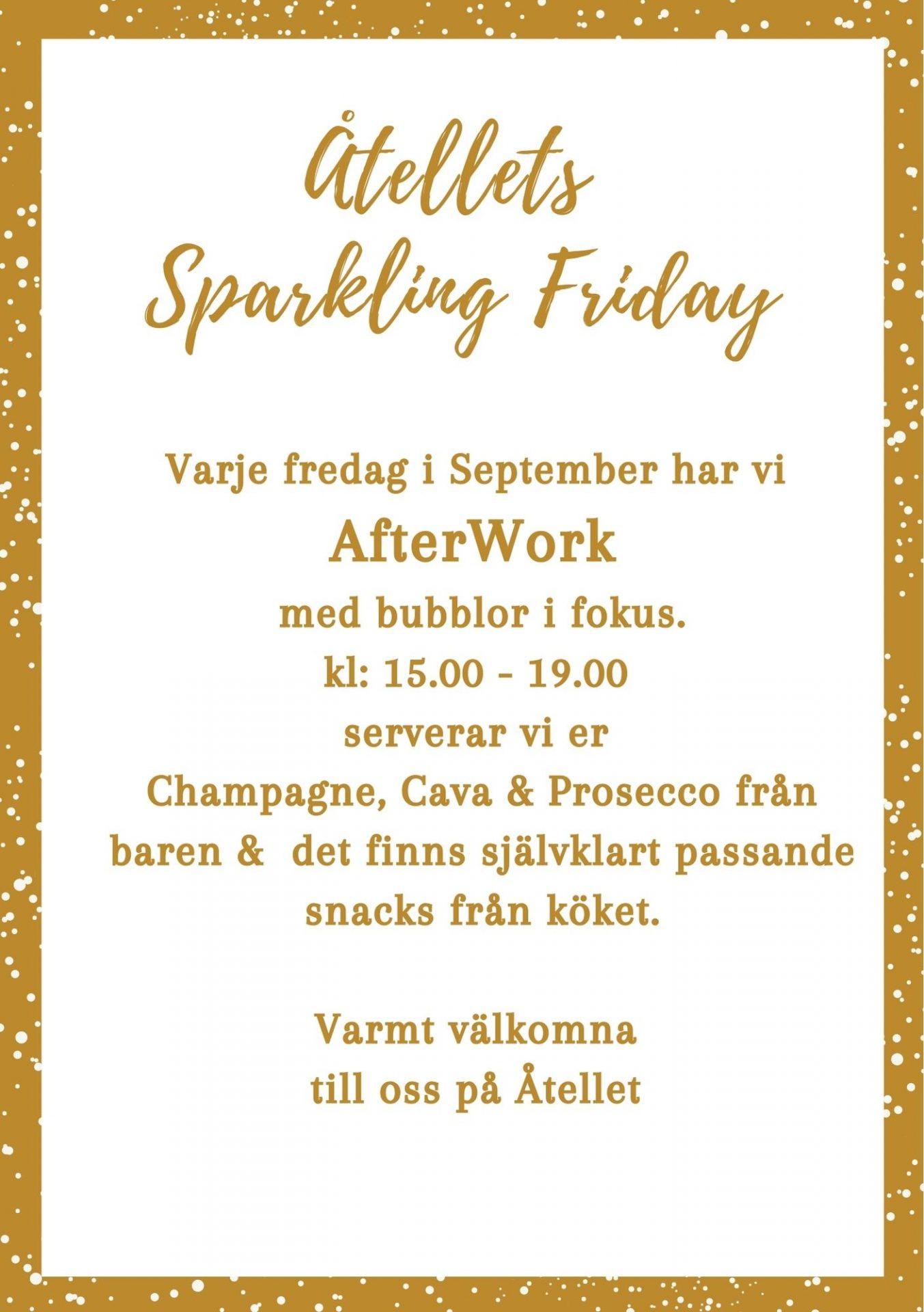 Åtellets Sparkling Friday (1)